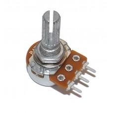 Резистор переменный 10 кОм (kOhm) B10K-15mm