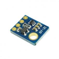 Датчик температуры и влажности GY-21 на чипе HTU21