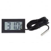 Цифровой термометр с LCD дисплеем -50°C...+ 100°C
