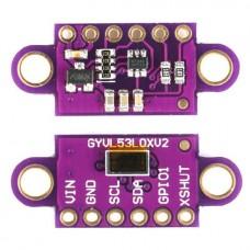 Инфракрасный лазерный ToF датчик расстояния VL53L0X 5-120см